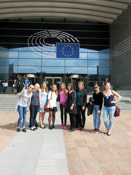 Brysselin opintomatka